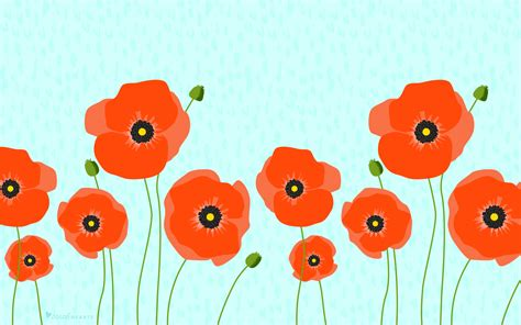 april  poppy calendar wallpaper sarah hearts