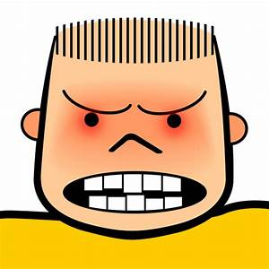 Cartoon Angry Faces - Cliparts.co