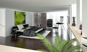 Habitaciones modernas minimalistas :: Imágenes y fotos