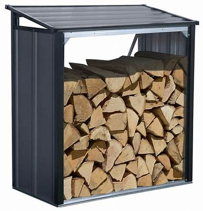 Firewood Storage Steel Rack Arrow Sheds Shelterlogic
