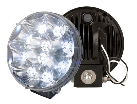 truck lite led spot light with integrated mount 81711