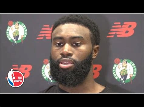 Jaylen Brown is proud of NBA players coming together to ...