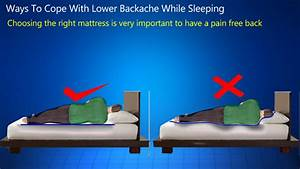 right lower back pain while sleeping shawn karam With back hurts while sleeping
