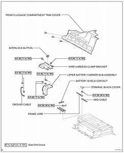 2007 Toyota Hybrid Battery Wiring