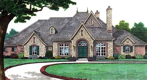 country european house plans bungalow european country traditional house plan 66115