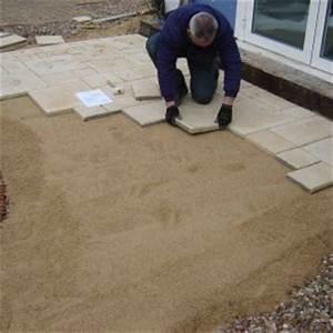 Terrasse Sur Sable : terrasse dalle pierre sur sable nos conseils ~ Melissatoandfro.com Idées de Décoration