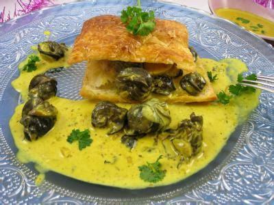 cuisiner les escargots feuilleté d 39 escargots aux épices supertoinette la