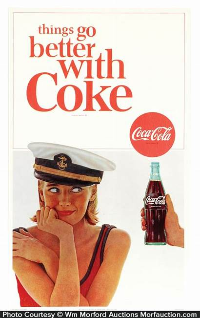 Coke Things Better Sign Cola Coca Antique