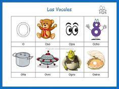 palabras que inician con la vocal e vocales preschool school and education