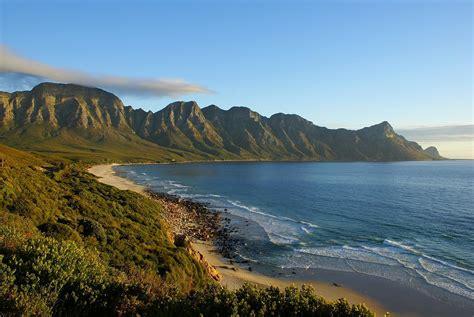 magic sunset  rooi els coastal road south africa flickr