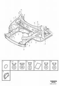 Volvo Xc90 Plug  Body  Seals  Compartment
