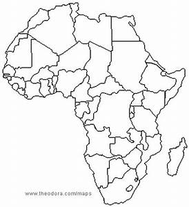 Africa Map without Names - Bing Images | Education ...