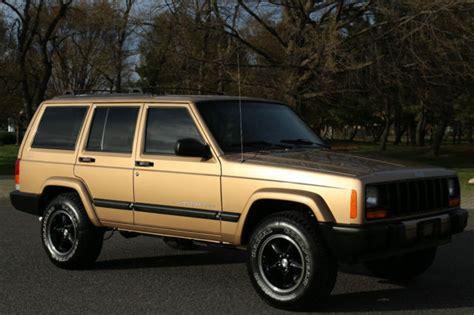 original jeep cherokee 2000 jeep cherokee sport xj 75k original miles 4x4 rust