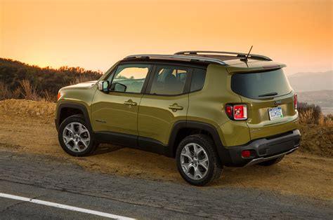 blue green jeep jeep renegade limited 2016 suv drive