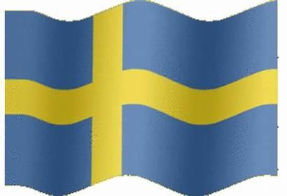 Flag Sweden Animated Flags Animation Extra Swedish