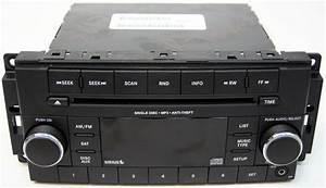 2010 Dodge Ram 3500 Truck Factory Stereo Aux Mp3 Sirius Ready Cd Player Oem Radio