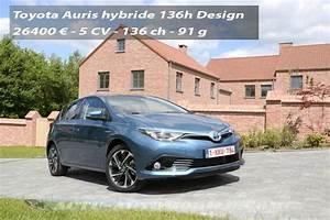 Fiabilité Toyota Auris Hybride : essai nouvelle toyota auris hybride conqu rante actu automobile ~ Gottalentnigeria.com Avis de Voitures