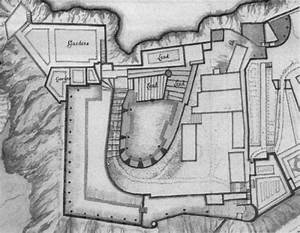 16th Century Development Of Mont Orgueil Castle