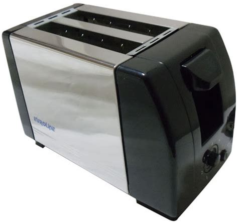 Cheapest Pop Up Toaster by Euroline Pop Up Toaster 2 Slice Ss 750 W Pop Up