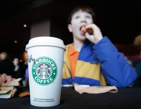 I used to go there minimum once a week, and stopped going because i didn't love their coffee. Starbucks rethinks stance on young customers - Business - US business - Food Inc. | NBC News