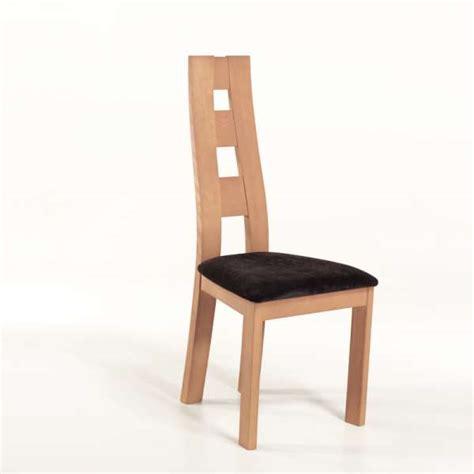 chaises de séjour chaise de séjour de fabrication française tissu et bois