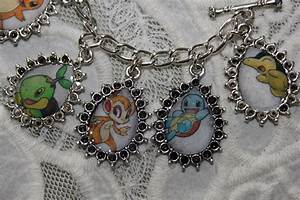 pokemon charm bracelet fanart