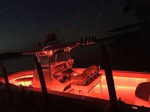Post your boat at night led lights page the hull