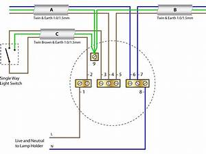 Ceiling Rose Wiring Diagram New Cable Colours