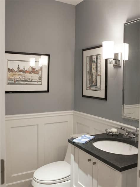 Bathroom Wall Color With Cabinets by Benjamin Pikes Peak Gray Bathroom Wall Color