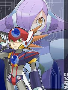 MMX8:AXL and LUMINE by RokusukeTanaka on DeviantArt