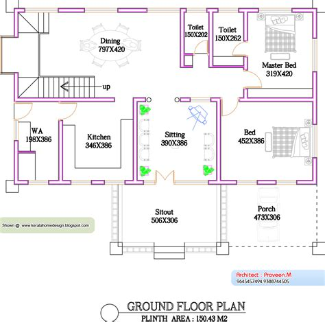 square house floor plans kerala home plan and elevation 2800 sq ft home appliance