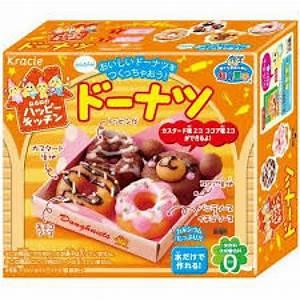 Kracie DIY Candy Kit Happy Kitchen donut Japanese Candy ...