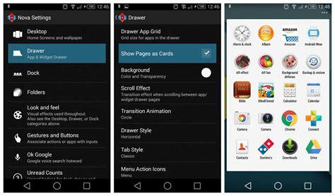 Nova Launcher Beta With Lollipop App Drawer