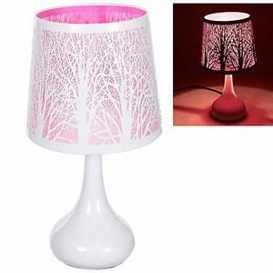 140 Lampe De Chevet Rose