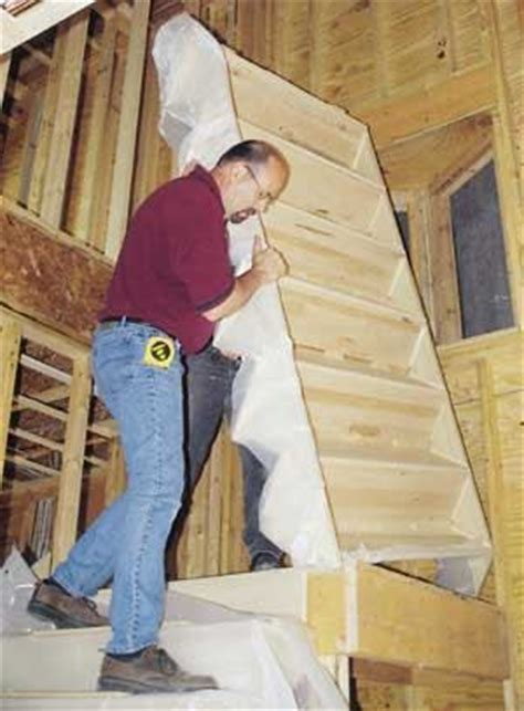 installing manufactured stairs jlc  framing