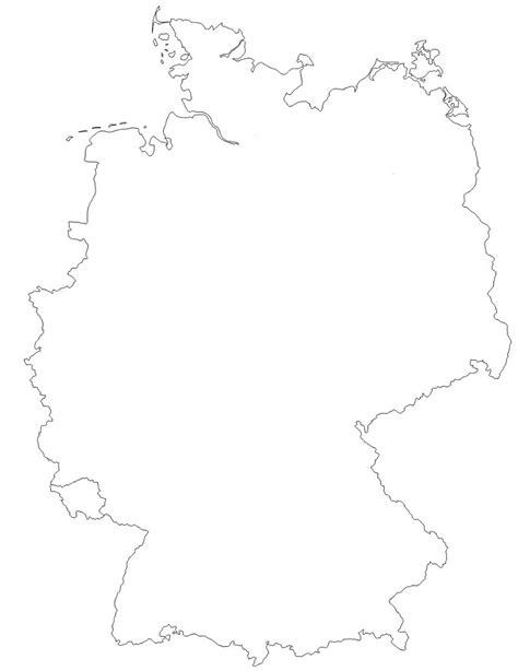 Carte Allemagne Vierge by Allemagne Cartes Et Informations Sur Le Pays