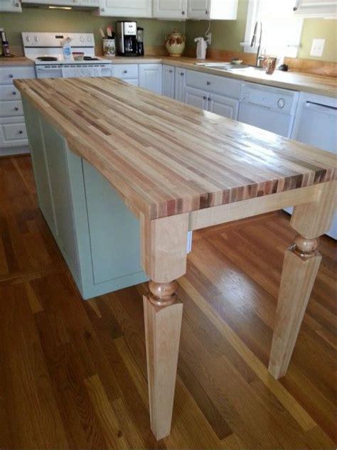 furniture chic kitchen island wood posts  breakfast bar