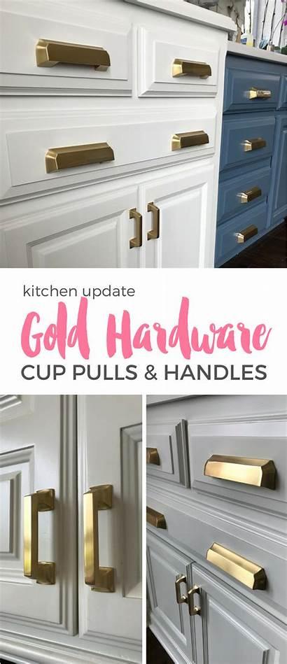 Kitchen Gold Cabinets Hardware Pulls Cabinet Themagicbrushinc