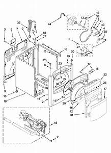 Whirlpool Cabrio Dryer Parts Diagram