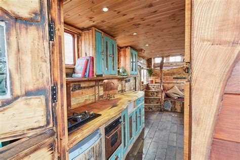 This Old Horse Trailer Was Converted into a Cozy and