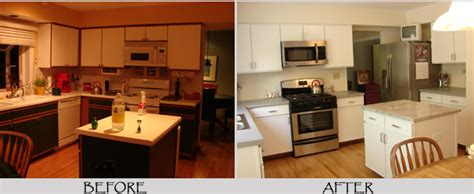 painting laminate cabinets before and after interior painting by avid co dupage county area