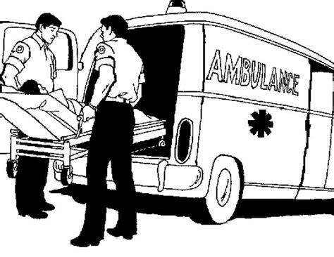 Kleurplaat Nederlandse Politieauto by Kleuren Nu Ambulance Met Brancard Kleurplaten
