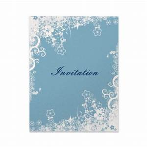 ideas for your winter wedding invitation ideasparte two With blank winter wedding invitations
