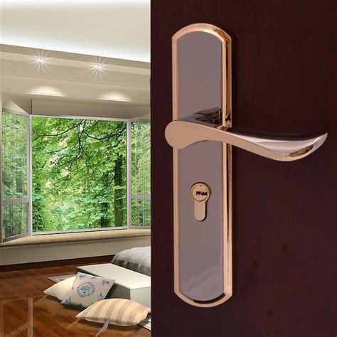 simple interior room door toilet handle european