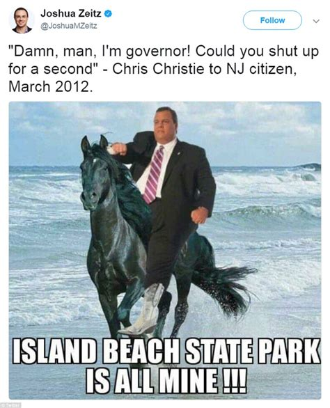 Chris Christie Beach Memes - chris christie is roasted in hilarious beachgate memes daily mail online