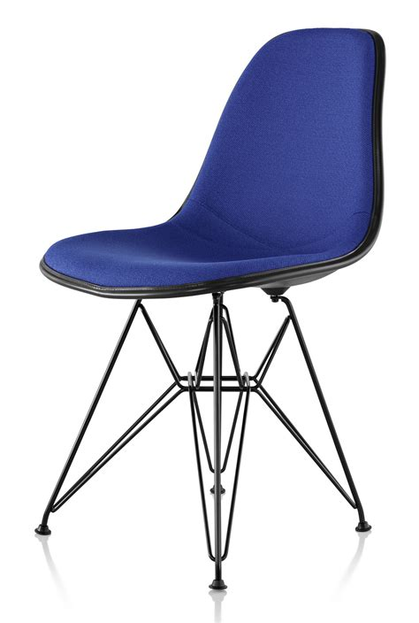 herman miller eames 174 molded fiberglass side chair