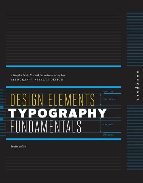 design elements typography fundamentals by kristin cullen