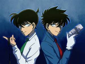 Detective Conan Shinichi Kudo Kaitou Kid by Allena Mae ...
