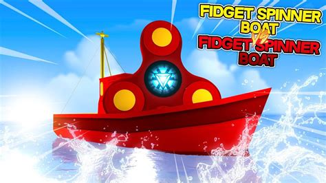 Fidget Spinner Boat by How To Make A Fidget Spinner Boat Minecraft Versus W