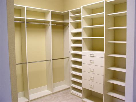 Antique White Closet Organizer  Traditional  Tampa By